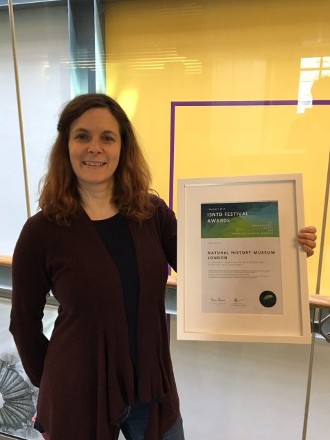NHM receives award for outstanding public engagement