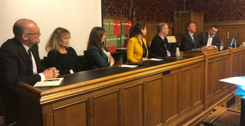 Panel discussion during the APPG chaired by Jeremy Lefroy MP