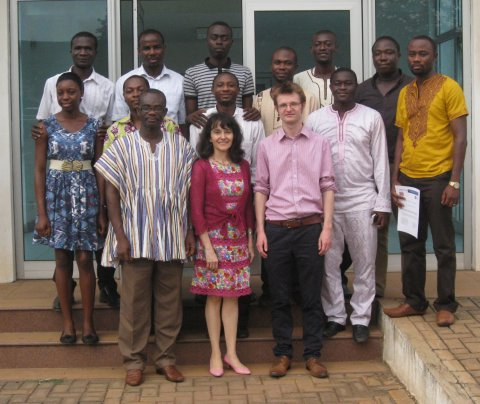Collaborating with the West African Centre for International Parasite Control WACIPAC